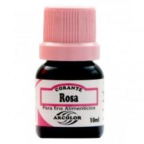 Corante Liquido Rosa 10Ml
