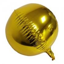 Balão Foil Ouro 4D