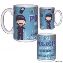 Caneca Policia
