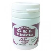 Corante Gel Violeta 30g