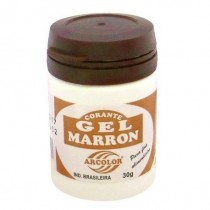 Corante Gel Marron 30g