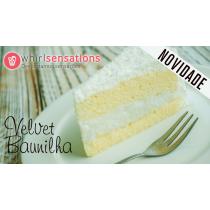 WS Cake Velvet Baunilha 1kg