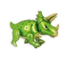 Balão Dinossauro Verde 90cm...