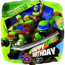 Balão Foil Turtles