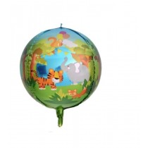 Balão Foil redondo Animais...
