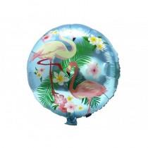 Balão foil flamingos