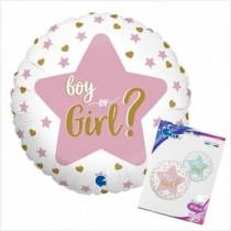 Balão Foil redondo Boy or Girl