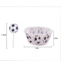 Formas Cupcakes Futebol com...