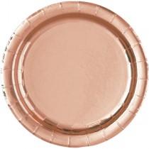 Pratos Rosa Gold 17cm