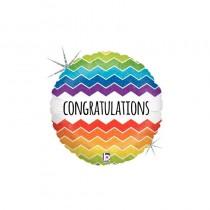 Balão Foil Congratulations