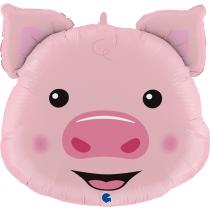 Balão Foil Cabeça Porco