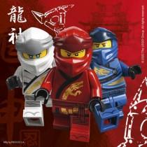 Guardanapos Lego Ninjago