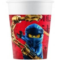 Copos Lego Ninjago