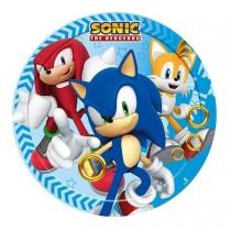 Pratos Sonic 18cm 8unid
