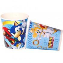 Copos Sonic 8unid.