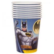 Copos Papel Batman 8 unid.