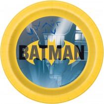 Pratos Batman 18cm