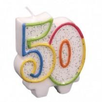 Vela aniversário 50
