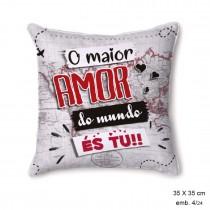 Almofada Amor do Mundo 35x35