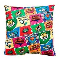 Almofada Pai Super Heroi 35x35