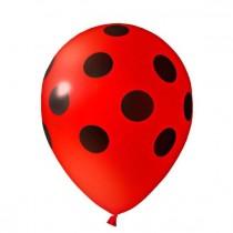 Balões Bolinhas Pretas...