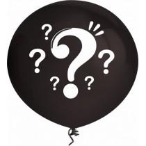 Balão Preto Revelação 40cm...