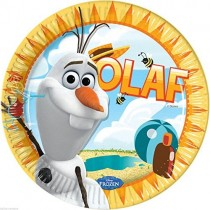 Pratos Frozen - Olaf
