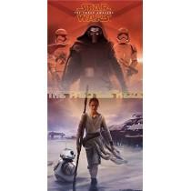 Decoração de porta Star Wars